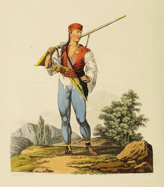 The Costume of the Hereditary States of the House of Austria - A Serethian (1804)