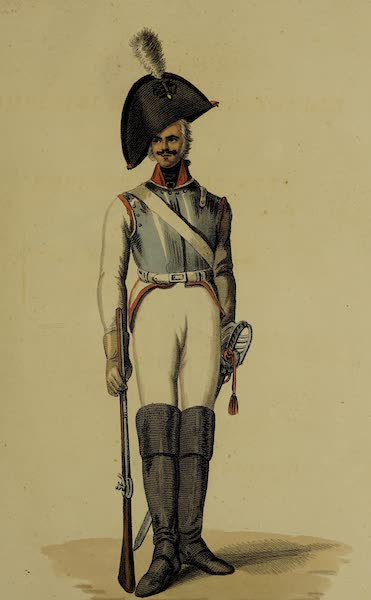 The Costume of the Russian Army - Body Guard (1807)