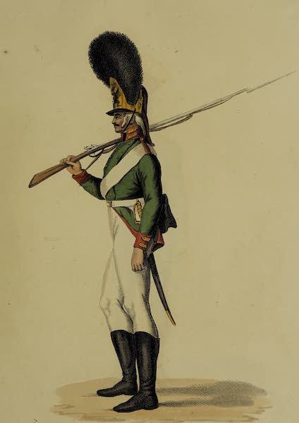 The Costume of the Russian Army - Foot Guard (1807)
