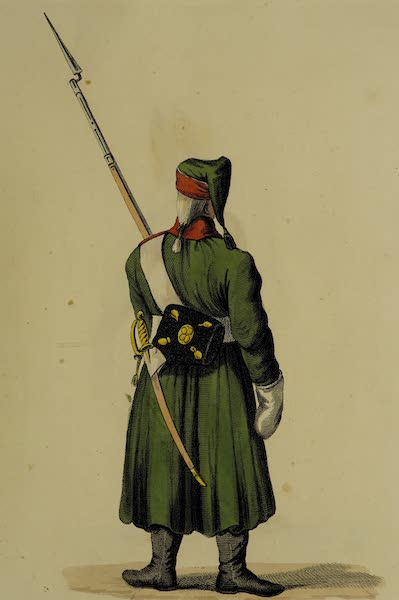 The Costume of the Russian Army - Guard at Night (1807)