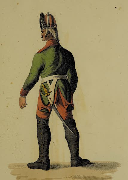 The Costume of the Russian Army - Infantry (1807)