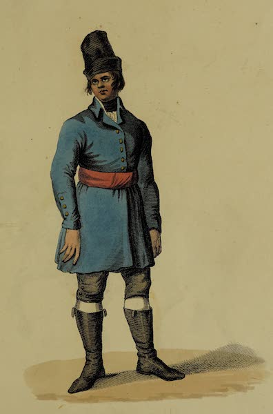 The Costume of the Russian Army - Sailor (1807)