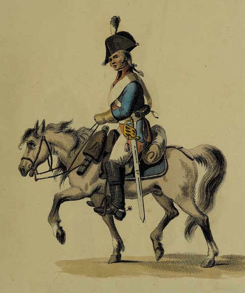 The Costume of the Russian Army - Soldier of the Police (1807)
