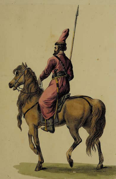 The Costume of the Russian Army - Cosack (1807)