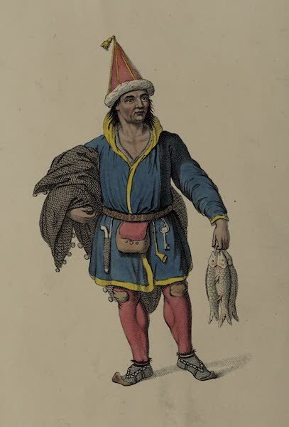 The Costume of the Russian Empire - A Laplander (1803)