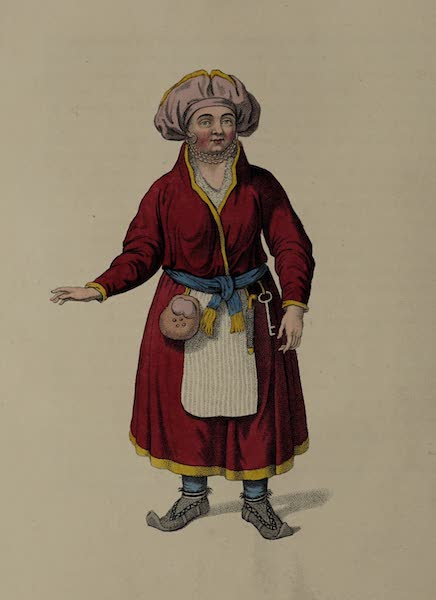 The Costume of the Russian Empire - A Female Inhabitant of Lapland (1803)