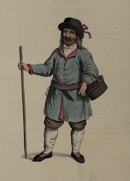 The Costume of the Russian Empire - A Peasant of Finland (1803)