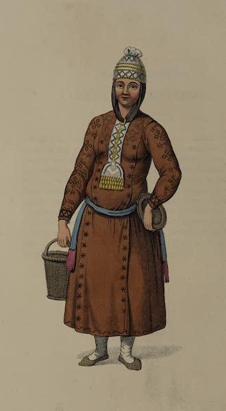 The Costume of the Russian Empire - A Tchouvashian Female (1803)