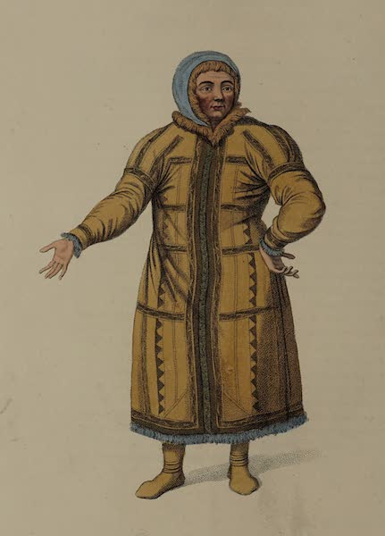 The Costume of the Russian Empire - An Ostiak, of the Obe (1803)