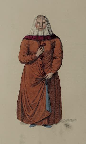 The Costume of the Russian Empire - A Female Ostiak (1803)