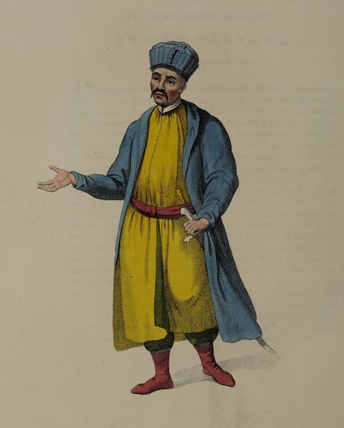 The Costume of the Russian Empire - A Kabardinian (1803)