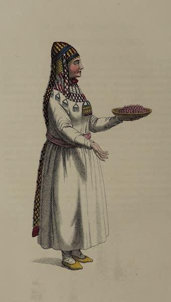 The Costume of the Russian Empire - A Bashkirian Woman (1803)