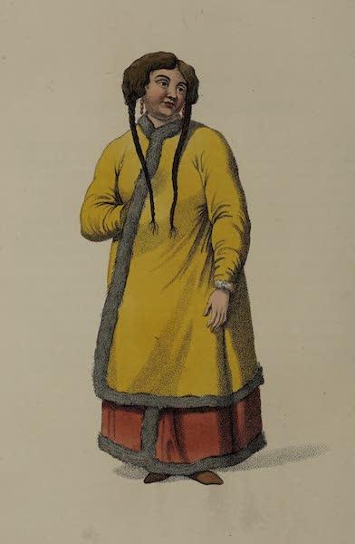 The Costume of the Russian Empire - A Barabinzian Woman (1803)