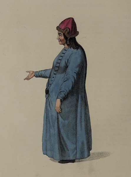 The Costume of the Russian Empire - A Barabinzian Girl (1803)