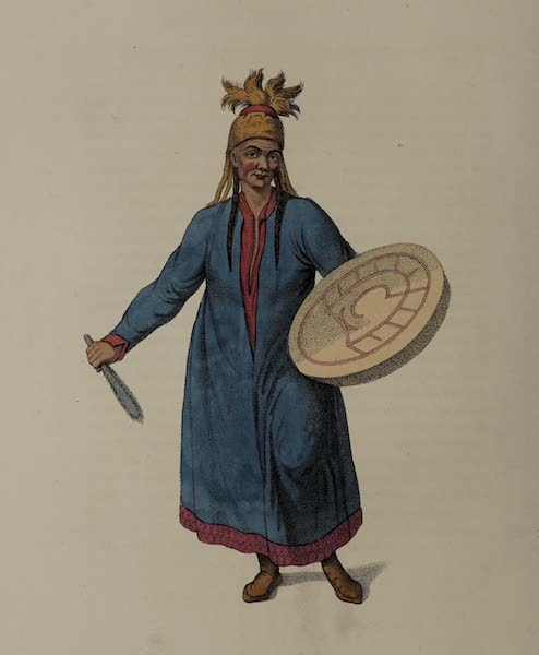 The Costume of the Russian Empire - A Female Schaman (1803)