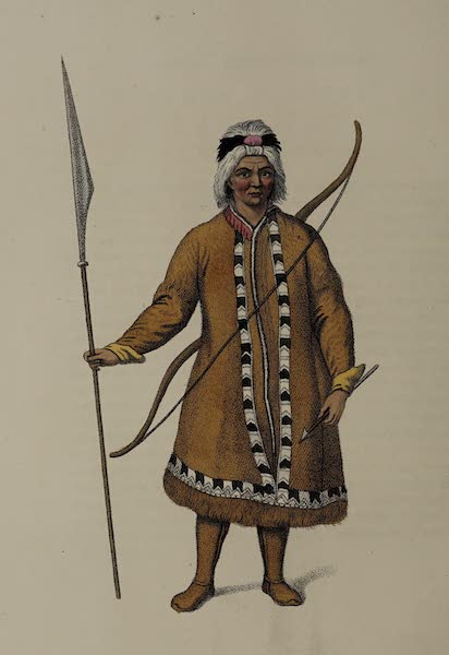 The Costume of the Russian Empire - A Yakouti Tartar (1803)