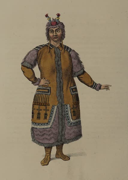 The Costume of the Russian Empire - A Female Yakouti (1803)