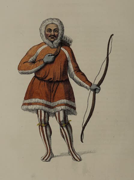 The Costume of the Russian Empire - A Samoyed (1803)