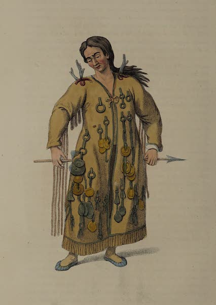 The Costume of the Russian Empire - A Schaman of the Tungoosi (1803)