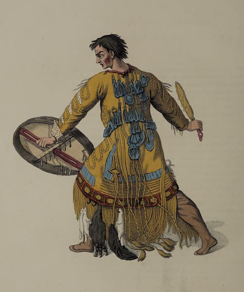 The Costume of the Russian Empire - A Schaman of Kamtshatka (1803)