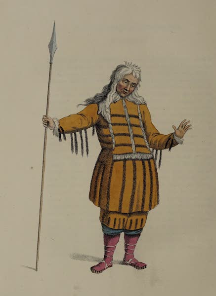 The Costume of the Russian Empire - A Koriak, in his dress of ceremony (1803)