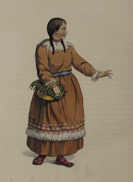 The Costume of the Russian Empire - A Female Koriak (1803)