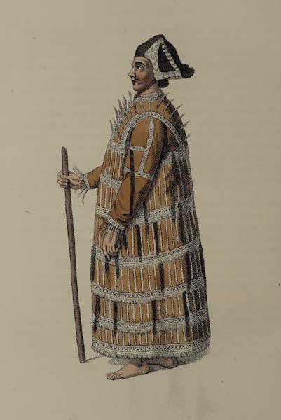 The Costume of the Russian Empire - An Aleutian (1803)