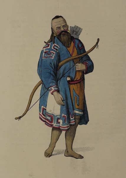 The Costume of the Russian Empire - A Kurilian (1803)
