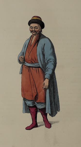 The Costume of the Russian Empire - A Kalmuk (1803)