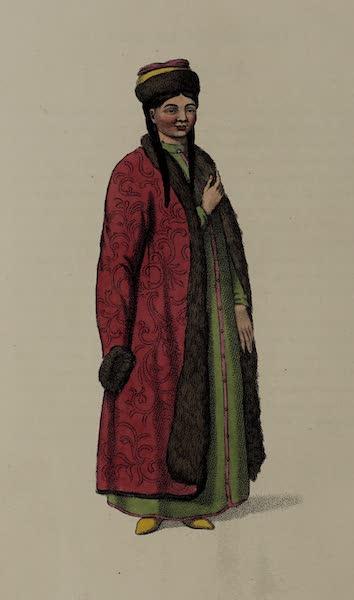 The Costume of the Russian Empire - A Female Kalmuk (1803)