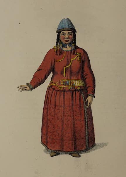 The Costume of the Russian Empire - A Female Bratzkiye (1803)