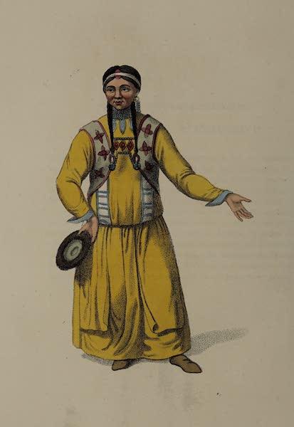 The Costume of the Russian Empire - A Bratzkian Woman, of Udinskoi Ostrog (1803)