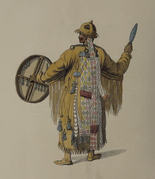 The Costume of the Russian Empire - A Bratzkian Schaman, or female magician (1803)