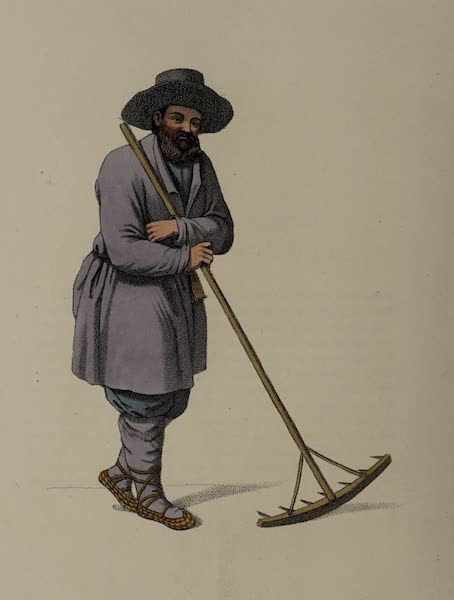 The Costume of the Russian Empire - A Russian Peasant (1803)
