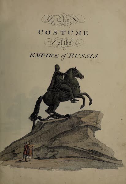 The Costume of the Russian Empire - Illustrated Title Page (1811)