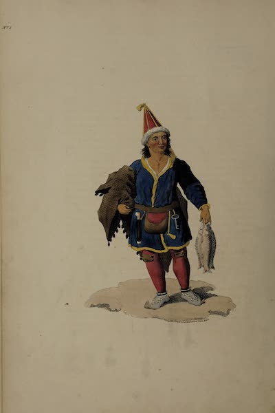 The Costume of the Russian Empire - A Laplander (1811)