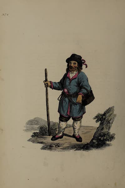 The Costume of the Russian Empire - A Peasant of Finland (1811)