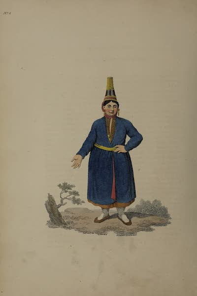 The Costume of the Russian Empire - A Female Tschermiss (1811)