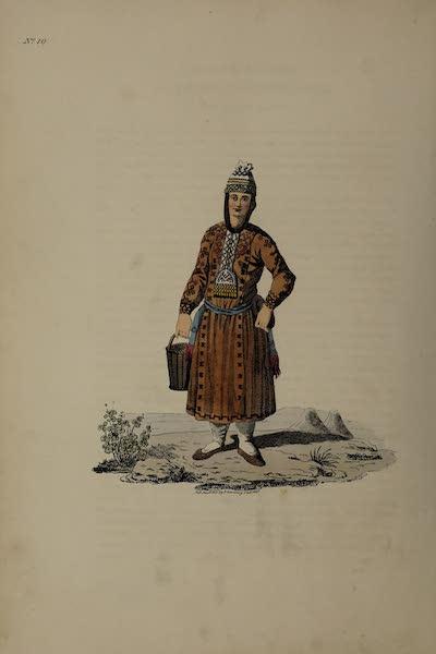 The Costume of the Russian Empire - A Tschouvachian Woman (1811)