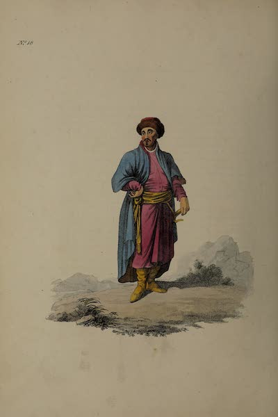 The Costume of the Russian Empire - A Tartar of Kazan (1811)