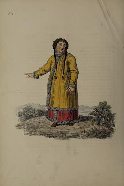 The Costume of the Russian Empire - A Barabintzian Woman (1811)