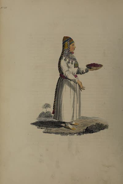 The Costume of the Russian Empire - A Female Baschkirian (1811)