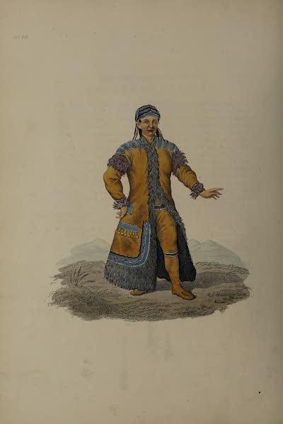 The Costume of the Russian Empire - A Yakutan Girl (1811)