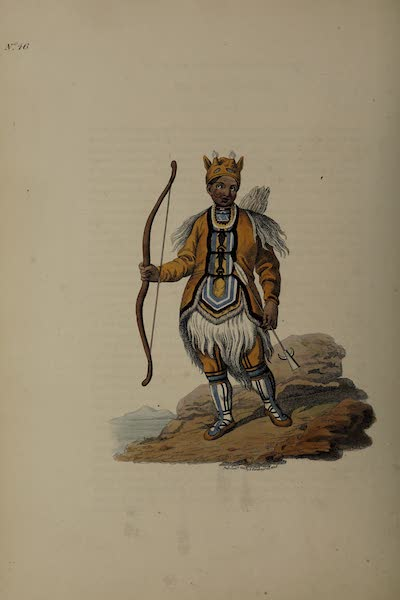 The Costume of the Russian Empire - A Tongusian in his ordinary Dress (1811)