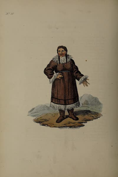 The Costume of the Russian Empire - A Kamtschadale in his ordinary Dress (1811)