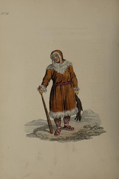 The Costume of the Russian Empire - A Koriak (1811)