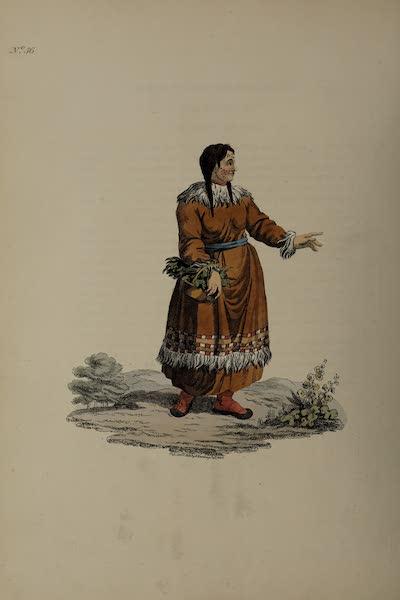The Costume of the Russian Empire - A Female Koriak (1811)