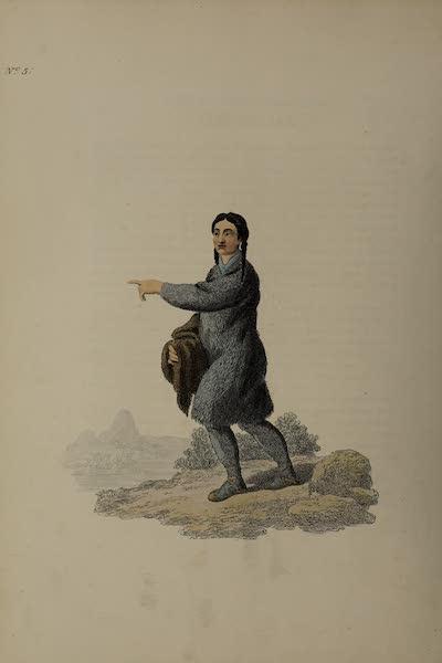 The Costume of the Russian Empire - A Tschutzkian Woman (1811)