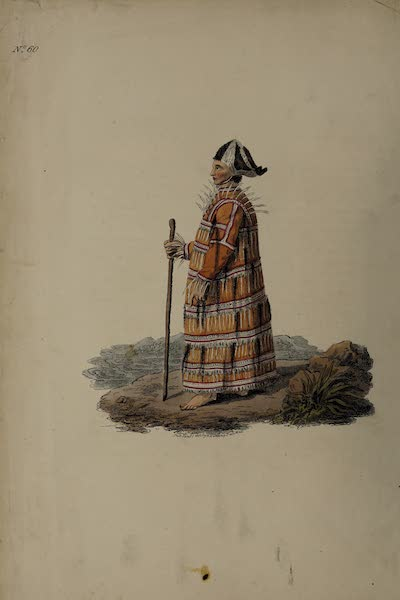 The Costume of the Russian Empire - An Aleutian in his Winter Dress (1811)