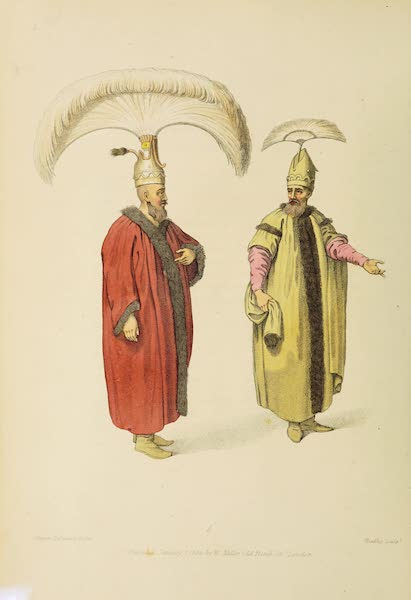 The Costume of Turkey - Officers of the Grand Signior (1802)